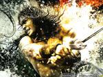 Conan The Barbarian Color Wallpaper