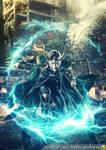 The Avengers Loki Energy Wallpaper