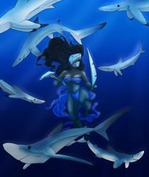 Blue Shark Goddess