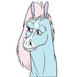 Spawkwy Cotton Candy Horse