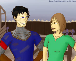 TCP Second Meetings: Kel and Dom at Haven by kunoichimistress