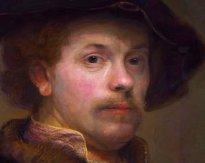 Rembrandt  Zelfportret