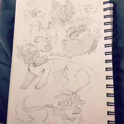 Sketchieeees by SkeleScribbles