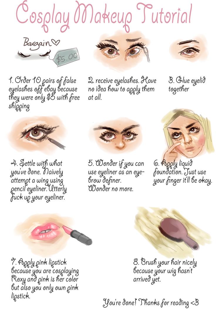 Cosplay Makeup Tutorial by Areyouonfireyet on DeviantArt