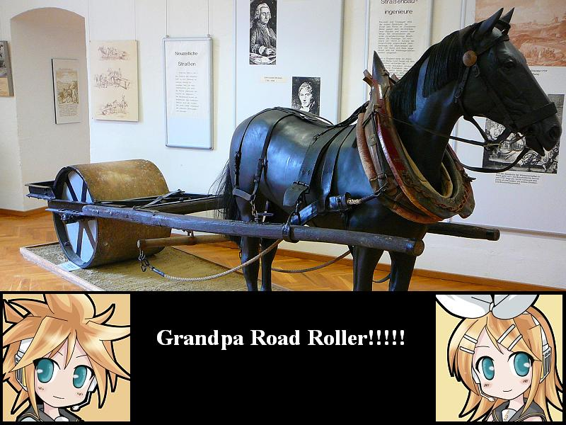 Grandpa Road Roller by KaitoShion