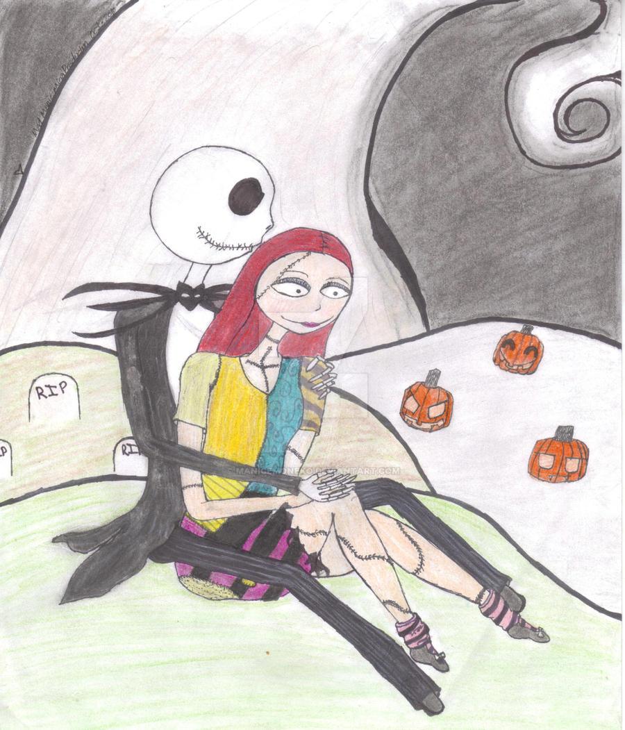 Jack And Sally By ManicEmoNeko On DeviantArt