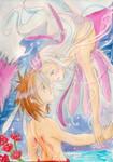 Le cygne et L'ange by ZeldaPeach