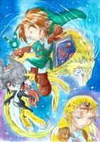 Zelda TP chibi by ZeldaPeach