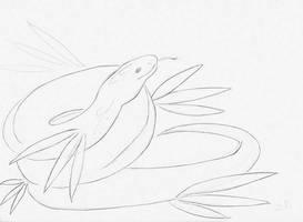 Serpent royal croquis by ZeldaPeach
