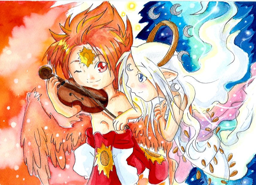 Melodie de Sun by ZeldaPeach