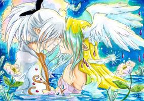 Joyeux anniversaire Ange by ZeldaPeach