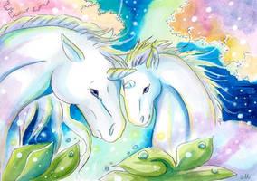 Licorne etoile by ZeldaPeach