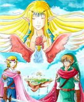 Zelda collab by ZeldaPeach