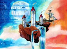 Les trois Tour by ZeldaPeach