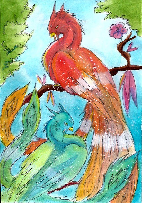 Les Phoenix by ZeldaPeach