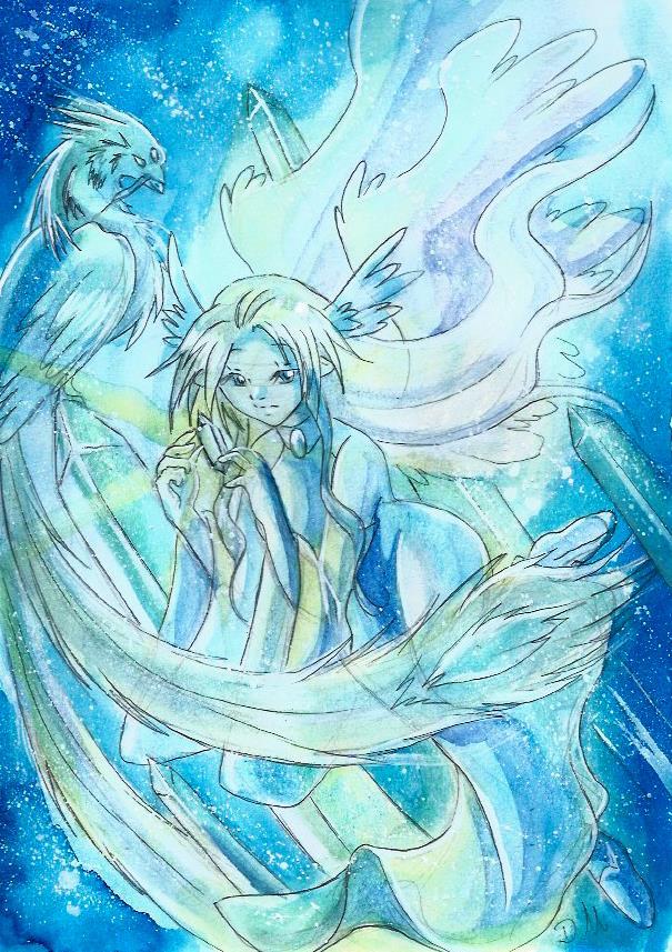 Cristal celeste  by ZeldaPeach
