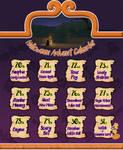 [CLOSED] Halloween Advent Calendar