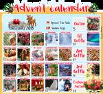 [CLOSED] LumenFox Christmas Advent Calendar 2018 by Yoshimiko-Adopts