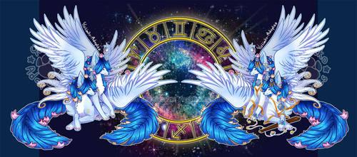 [CLOSED - TY!] LumenFox Zodiac Rare Sale - Gemini by Yoshimiko-Adopts