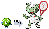 Fakemon - Tennis Type by dl22003