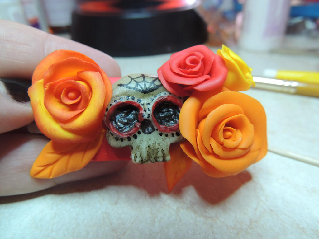 WIP Dia de los Muertos by JoannaInMiniLand