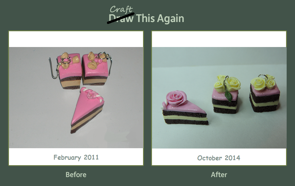 Craft this again - cakes by JoannaInMiniLand