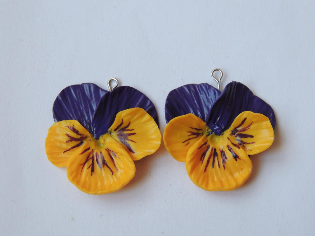 Pansies - commision by JoannaInMiniLand