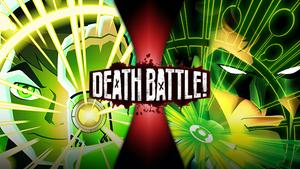 Ben 10 VS Green Lantern