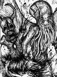 Cthulhu VS. Zalgo - 001