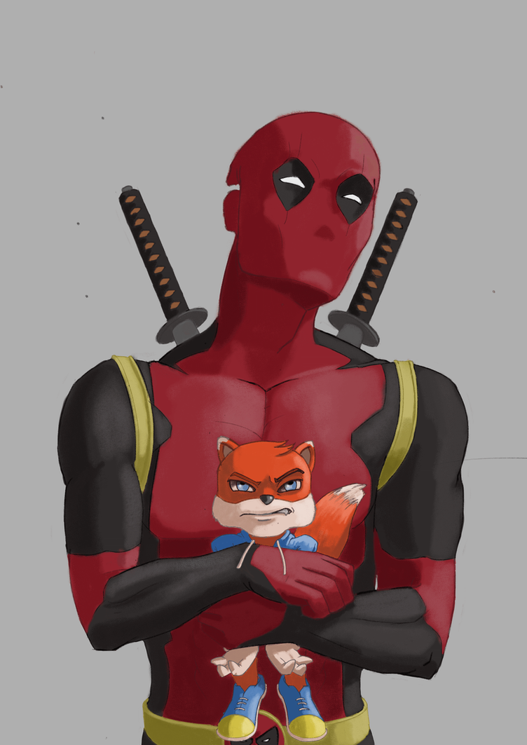 The Merc with the Pissed Off Red Squirrel by Triggerpigking