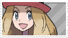 Serena - Pokemon X and Y stamp by KawaiiRussia-chan