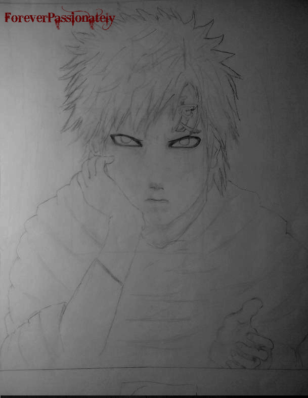 Sabaku No Gaara By Foreverpassionately by Foreverpassionately