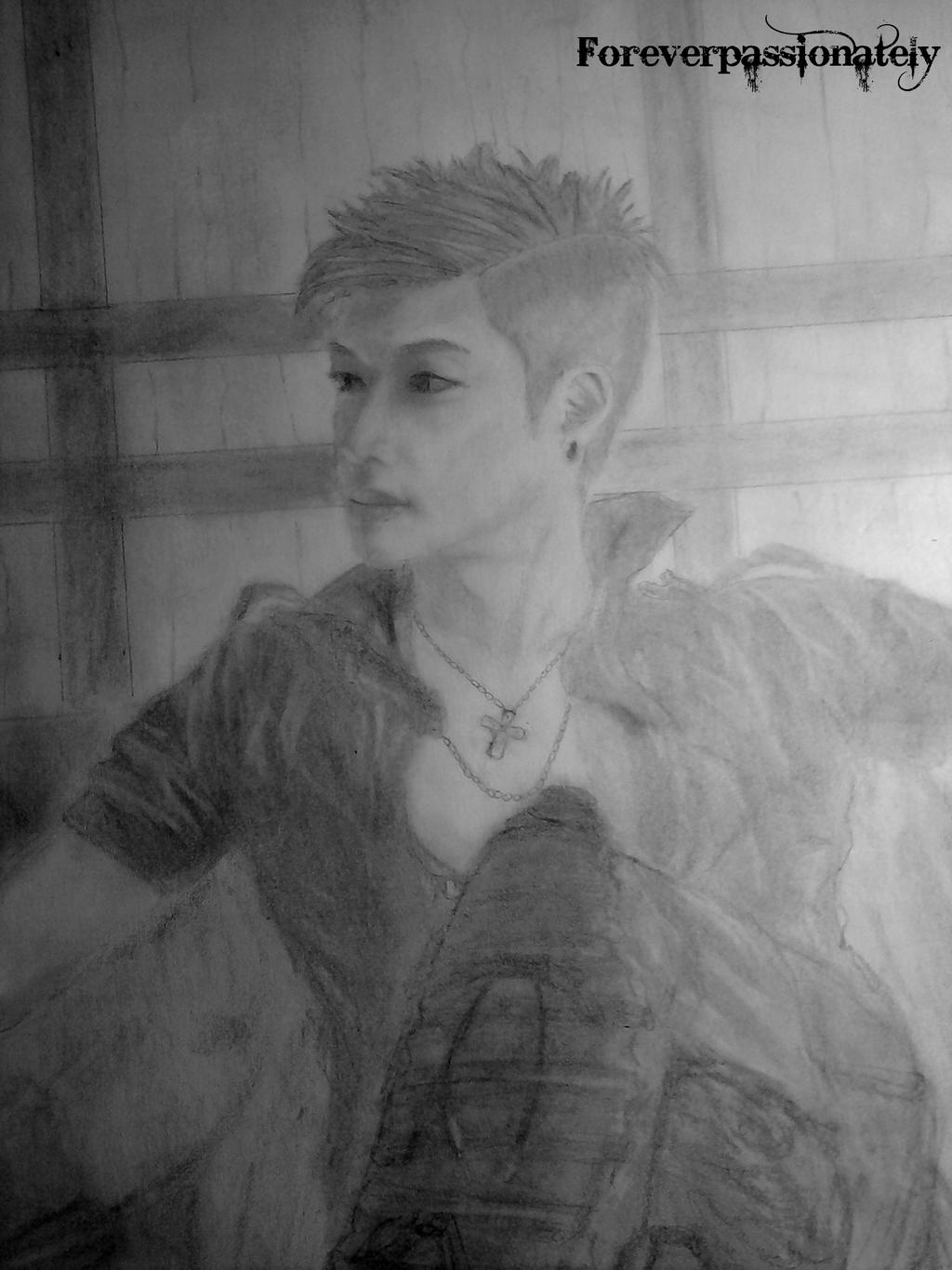 Kim Hyun Joong by Fluffypassion
