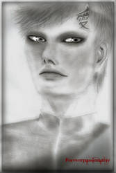 Gaara realistic portrait