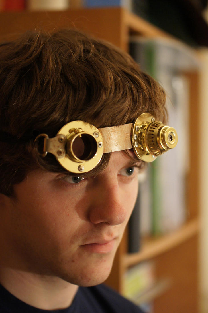FOR SALE Steampunk Goggles by flamingcog on DeviantArt
