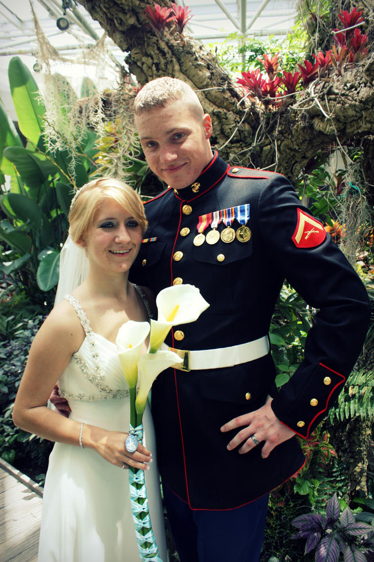 Bride and Groom by kimberlyg
