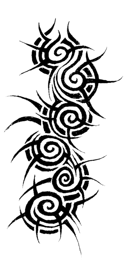 Tribal Tattoo Designs PNG