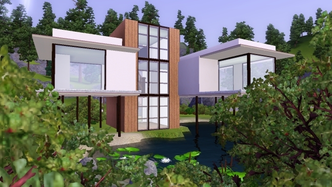 Sims 3 house by marosstefanovic on deviantart for Best house designs for the sims 3