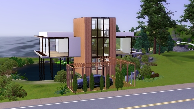 Sims House By MarosStefanovic On DeviantArt - Cool sims 3 houses