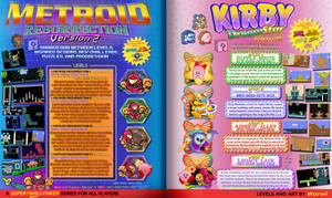Metroid + Kirby Mario Maker Series Ad (Front) by Wuvwii