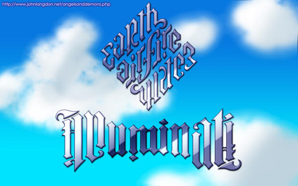 Illuminati Diamond +Ambigram+