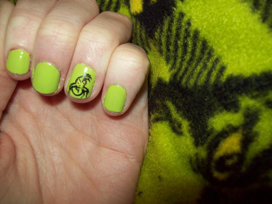 Grinch Nails By Ffishy21 On Deviantart