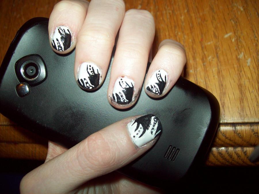 Nail Art Tutorial by ffishy21