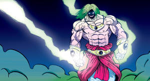 OLD SCHOOL BROLY by max-boy-1991