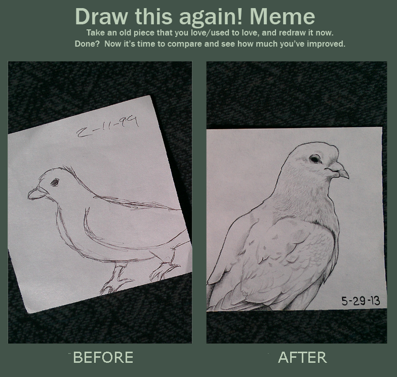 Draw this again meme by beefteriyaki on deviantart for Draw this again meme template