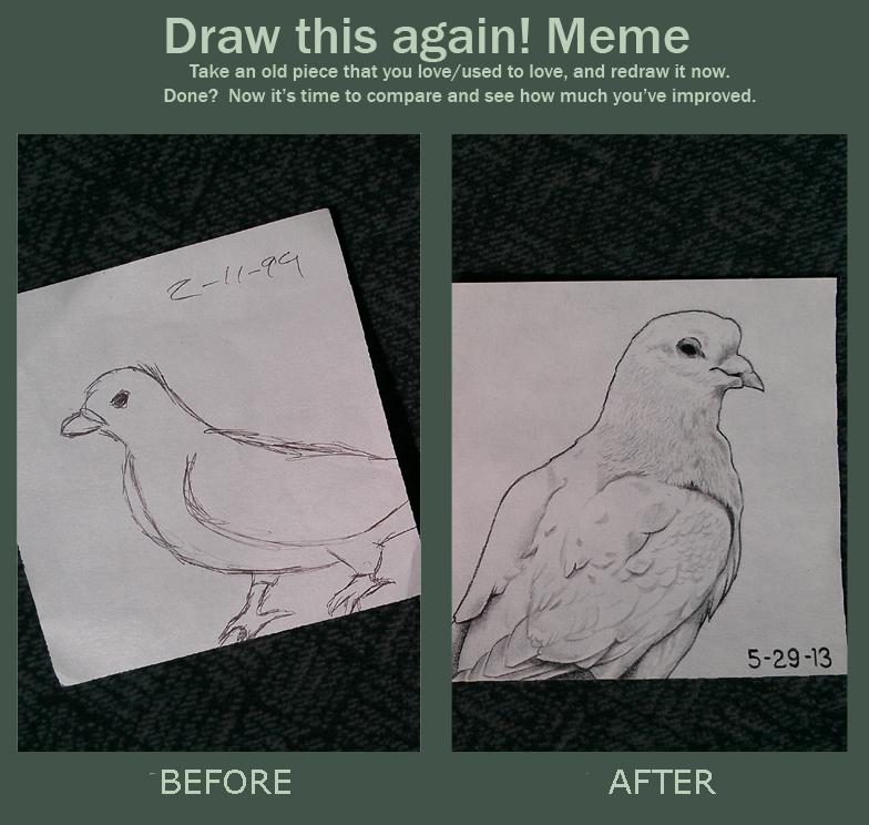 draw this again meme template - draw this again meme by beefteriyaki on deviantart