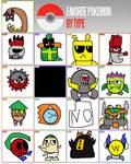 My Fakemon Type Meme by FazeTheEggCarUndead2