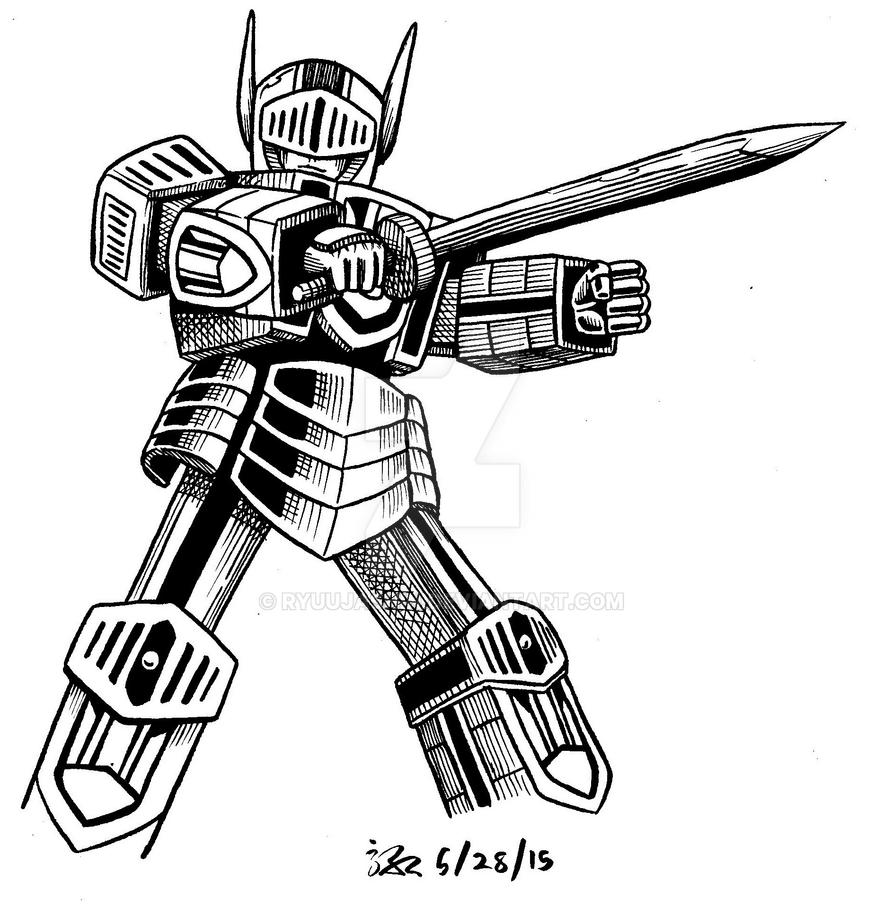 Sovereign Knight Robo by RyuuJashin
