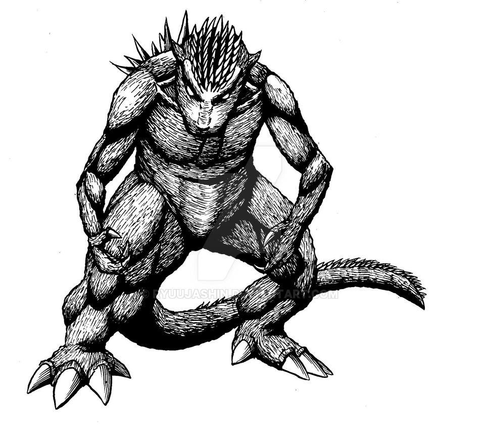Godzilla Rising by RyuuJashin