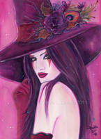 Burgandy Witch by Fairylover17